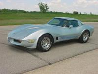 1982 Corvette Coupe. Last year of the Stingray style