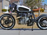 1982 Honda CX500C Motorcycle Bobber Cafe Racer-It's a