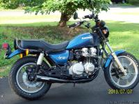 1982 Kawasaki KZ750-N1 Spectre with 19,335 miles. Call
