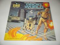 1983 Lucas Film 331/3 RPM- Star Wars Droid World