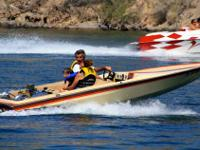 1983 Apache jet boat. 350 chevy engine, panther jet