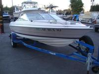 Great fish or ski This open bow is 16', has seating for