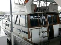 1983 Bayliner 3870 Double Cabin Motoryacht, with twin