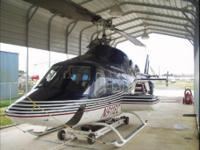This aircraft is a well maintained, low time helicopter