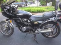 The classic 1983 Honda V45 Sabre VF750S low miler