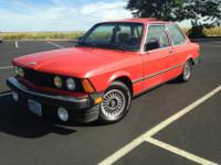 1983 BMW 320i M10 1.8L 5-speed in good shape for sale.