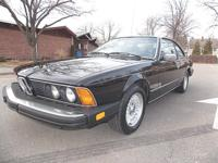 Original 5 speed manual 633 CSI. mThis is car is in