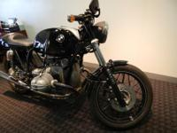 The bike started life as an R80RT. It was changed into