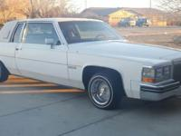 1983 Cadillac Coupe DeVille Up for sale is a 1983