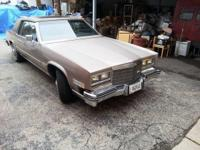 We have a 1983 2 door Cadillac Eldorado with a moon