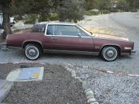 Hello, I have this 1983 Cadillac Eldorado Barritz with