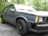 I have a 1983 Chevrolet Citation X-11 for sale. Blue on