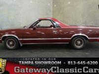 Stock #538-TPA 1983 Chevrolet El Camino $14,995