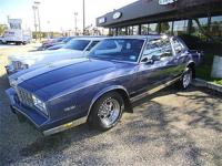 This is a one owner 1983 Chevy Monte Carlo New paint,