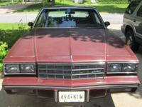 1983 MONTE CARLO LS up for sale. I am asking for $2,500
