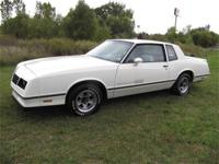 1983 CHEVROLET MONTE CARLO SS - AMAZING CONDITION