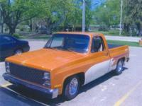 383 Stroker engine, Custom paint, 350 Tranny, 12 both