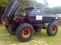 1983 Chevy K20, tho it has been customized with 21