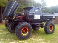 "Up ""FOR SALE"" is a 1983 Chevy K20, tho it has been"