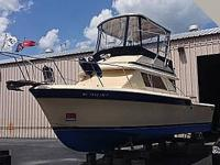 1983 Chris-Craft 315 Commander Twin Merc 454's Hard Top