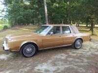 1983 Chrysler New Yorker Fifth Avenue. Bought new in