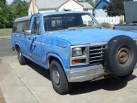 Selling my UGLY WORK-A-HOLIC truck. This 1983 F-150 has