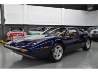 This 1983 Ferrari 308 2dr GTS Convertible features a
