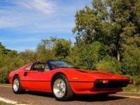 1983 Ferrari 308GTS -2.9L V8 Engine -5 speed Manual