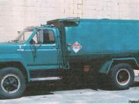 370 V8 four barrel carb, gasoline engine 28,900 GVW,