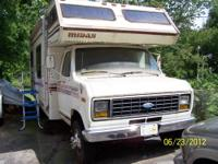 1983 Ford/Midas RV. Paid $5000...stove, refrig, shower,