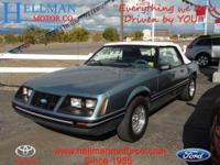 1983 Ford Mustang GT Our Location is: Hellman Motor