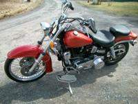 Wide glide, 4 speed, full custom, new paint and rebuilt