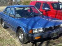 This is my 2nd generation 1983 Honda Accord, with only