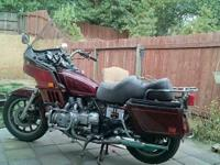 STILL AVAILABLE----PROJECT BIKE----1983 Honda Goldwing