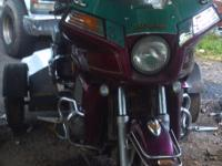 Its a 83 Honda Goldwing 1100 with Trikekit. It was