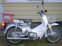 I have a 1983 Honda Passport C70 Scooter .It's in great