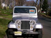 1983 Jeep CJ-7 Limited 4 X 4. Fully restored- 1 of 100
