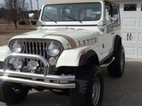 Awesome 83 Jeep CJ7 that went through a restoration and