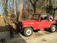 1983 Jeep Scrambler. Survivor condition. Runs great.