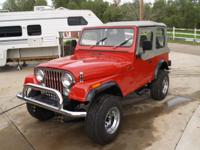 JUST FINISHING FULLY COSMETICALLY RESTORED 1983 JEEP