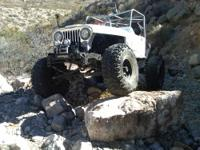 This ROCKCRAWLER is stretched 9 inches, One Tons with