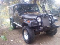 1983 Jeep Scrambler Cj8.NO rust , rare factory air