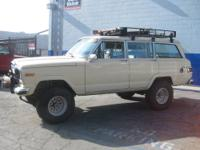 1983 Jeep Wagoneer 4x4 in great running condition. This