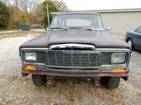 1983 Jeep Wagoneer. Take train is great. Transmission
