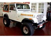 FABULOUS JEEP WITH A HEALTHY V8 AND 1983 Jeep Renegade.