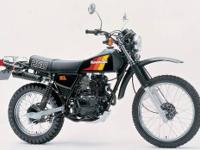 Selling my 1983 Kawasaki KL250 Enduro. Low mileage on