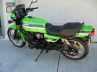 1983 Kawasaki KZ 1000R Eddie Lawson Replica with 32,034