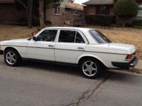1983 Mercedes 300 Turbo Diesel Well Maintained Local
