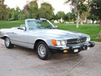 This is stunning 1 owner 1983 Mercedes-Benz 380SL