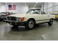 Here is a beautiful 1983 Mercedes-Benz 380 SL Roadster